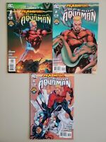 Flashpoint Emperor Aquaman 1 2 3 DC Aug 2011 Complete Set Series Run Lot 1-3 VF