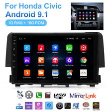 For Honda Civic 2016-2018 Android 9.1 Car Stereo Radio GPS Navigation Player US