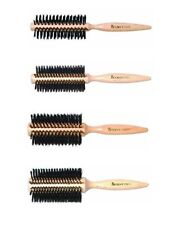 DENMAN Wooden Radial Bristle Curling Hair Brush - D32S, D32M, D32L, D32XL