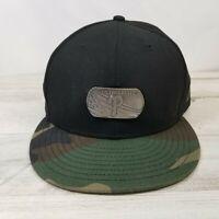 Philadelphia Phillies MLB New Era 59FIFTY Metal Dog Tag SZ 8 BLK/CAMO Hat Cap