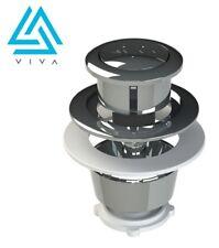 Genuine Viva Replacement Dual Flush Toilet Push Button Chrome Skylo UNI/SB