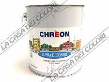 CHREON SUPRA DI FONDO - BIANCO - 2,500 lt - PITTURA DI FONDO AL SOLVENTE