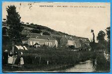 CPA: BINIC - Un coin de Rivière près de la Hasée / 1915