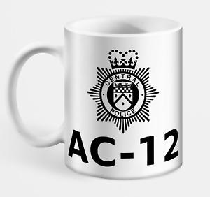 Line Of Duty AC-12 Mug - Police, Detective, Drama, TV