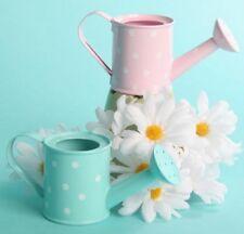 Polka Dot Watering Can garden wedding bridal shower favor
