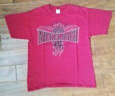 Men's Nickelback band Dark Horse Red concert t shirt large