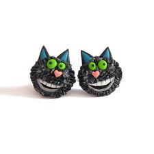 BLACK CAT Winnie La Strega FUNNY Wilbur Ragazze REGALI idee Spettrali fimo orecchini