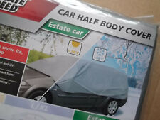ULTIMATE SPEED Car Half Body Cap Cover Protection Frost Ice Sap Estate Vehicle