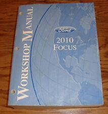 Original 2010 Ford Focus Shop Service Manual 10