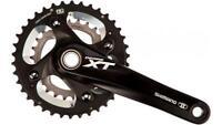 Shimano Deore XT FC M785 Crankset 2 x 10 Speed Black 165mm 38/26T Bike