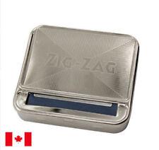 Zig-Zag 70mm Automatic Cigarette Tobacco Rolling Machine Metal Box