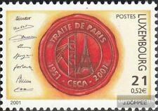 Luxemburg 1529 (kompl.Ausg.) postfrisch 2001 Pariser Vertrag