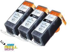 3Pk Compatible PGI-220BK Ink Cartridge for Canon Pixma iP4600 MP980 MP990 MX860