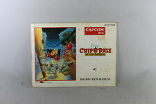 Chip 'N Dale: Rescue Rangers Manual (NES, Manual Only, ***NO GAME***)