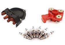 NEW BMW E30 E32 E34 Ignition Kit Plugs x 6 Cap Rotor BREMI + BOSCH