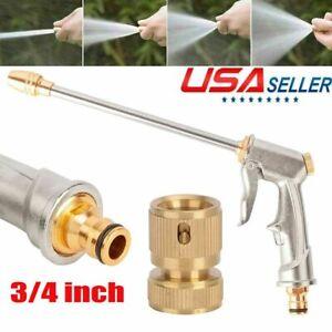 High Pressure Power Gun Water Spray Car Clean Washer Tool / 3/4 Female Connector