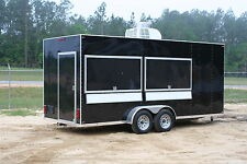 2018 7 x 18 Concession Trailer /  Mobile Kitchen +RANGE