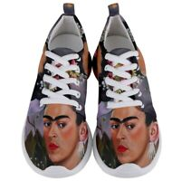 Art painting Frida Kahlo 7 by L Dumas Men's Lightweight Sports Running Shoes
