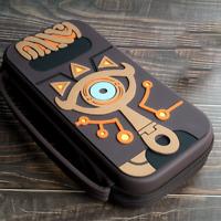 Zelda Breath Of The Wild Sheikah Slate Case Bag Cover Nintendo Switch NS Game
