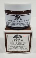 Origins High-Potency Night-A-Mins Renewal Cream 1.7 oz NEW WITH BOX