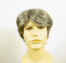 Perruque homme 100% cheveux naturel grise poivre et sel OLIVIER 44