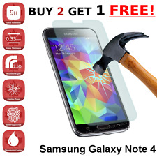 Samsung Galaxy Note 4 Premium Tempered Glass Screen Protector from Canada