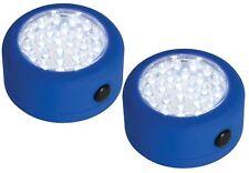 LAMPARA DE LUZ SIN CABLES  24 LEDS BASE MAG GANCHO 2UD