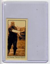 Rube Foster Chicago Negro league Monarch Corona T206 Centennial reprint #36