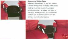 THE NEW PERFECT CHAIR RECLINER MAPLE WEDGE WOOD SPANNER TABLE ONLY