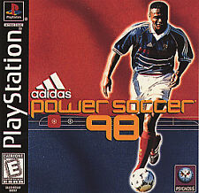 Adidas Power Soccer 98 Sony PS1 1998 Psygnosis Video Game;# S REDUCED FOR SUMMER