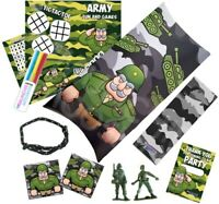 Pre Filled Army Soldier Military Party Box - Target Camouflage Parties Gift Bags