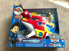 SPIN MASTER Paw Patrol Sub Patroller Characters Playset Brand New