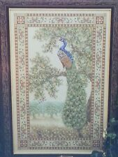 Teresa Wentzler Cross Stitch Peacock Tapestry Pattern Symbol of Excellence