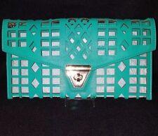 Laser Cut Clutch Bag Evening Bag Handbag Purse