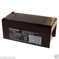 Panasonic Industrial  LC-R123R4PG 12V 3400mAh Faston 4,8 mm MP3.4-12 FG20341