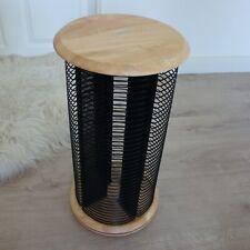HAMA CD Ständer - CD Aufbewahrung - Karussell / Rondell Holz drehbar 144 CD´s