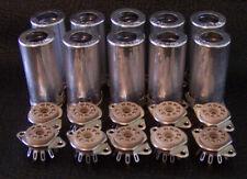 10 x Belton 9 Pin micalex Socket with Tube shield