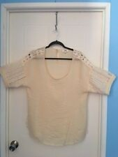 Umgee ladies top. Beautiful cream color, cool top new without tags L@@K!