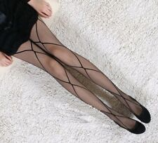 Fashion Sexy Black Fishnet Pattern Jacquard Stockings Pantyhose Tights for Women