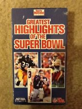 VINTAGE SPORTS ILLUSTRATED 1991 GREATEST HIGHLIGHTS OF THE SUPERBOWL VHS TAPE