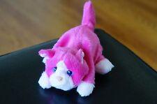PLUSH FurReal Friends Interactive Hasbro Mini Snuggimals Pink KITTEN Kitty Cat