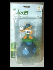 Rare Vintage Fuleco Figurine Mascot Toy with Ball Fifa 2014 Brazil World Cup NoS