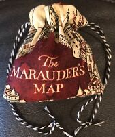 small Harry Potter D/&D Dungeons and Dragons Game Dice Bag Gryffindor handmade