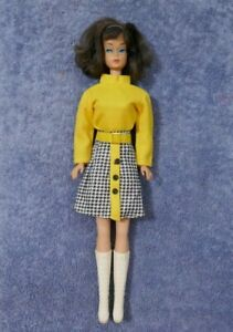 Vintage Brunette Side Part American Girl Barbie Doll 1070 - ULTRA RARE