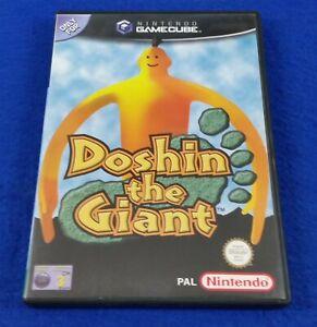 *gamecube DOSHIN THE GIANT Game (NI) Nintendo PAL UK EXCLUSIVE