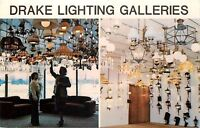 Gurnee Illinois~Drake Lighting Galleries Showroom~Otto Frankenbush Division~1970