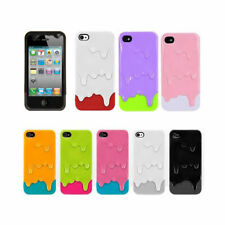3d Melt Ice-cream Skin for Apple Iphone 4 4s Protect Hard Case   *Free Shipping*