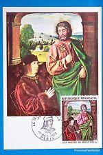 LE MAITRE DE MOULINS   FRANCE  Carte Postale Maximum FDC Yt C 1741