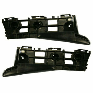 FITS FOR PRIUS 2010 - 2015 FRONT BUMPER RETAINER BRACKETS RIGHT & LEFT PAIR SET