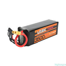 VOK Lipo RC Battery XT60 for RC Helicopter Drone 22.2V 3500mAh 6S 35C Accessory